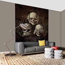 Fototapeten g nstig kaufen ebay - Totenkopf wandbild ...