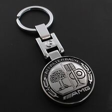 New AMG Car logo Metal keychain keyring Holder Accessories for Mercedes Benz