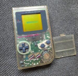 NINTENDO GAME BOY DMG-01 TRANSPARENTE 1989