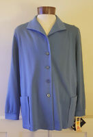 NWT Vintage Blue Mr.Alex Colman Blazer Coat Size 42