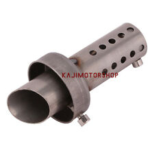 47mm Motorcycle Exhaust Muffler Pipe DB killer Silencer Sound Eliminator