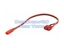 Charge Cable Adapter: Deans Female to JST, Heli Quadcopter Drone, Receiver Plug