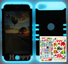 For Apple iPod Touch iTouch 5 | 6 - KoolKase Hybrid Cover Case Baby Elephant 56
