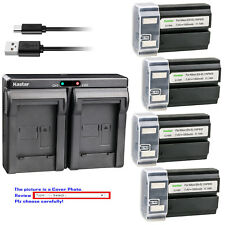 Kastar Battery Dual Charger for Nikon EN-EL1 MH-53 & Nikon Coolpix 4500 Camera