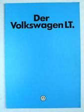 Prospekt Volkswagen VW LT, 8.1980, 12 Seiten