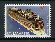 St Maarten 2015 MNH Allure of the Seas 1v Set Cruise Ships Boats Stamps