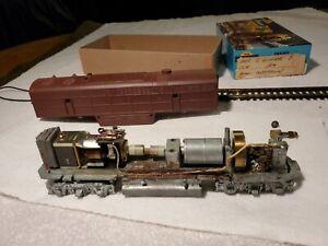 Ho Vintage Hobbytown/AHM Shell  Diesel Runs! For Parts/Or/Restoration #11