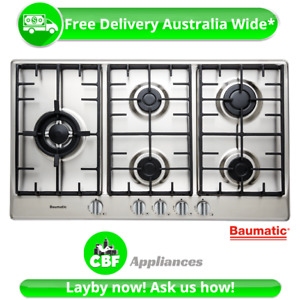Baumatic BSSG95 90cm Gas Cooktop LPG - ** MARKED BOX - BRAND NEW - WARRANTY