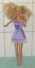 Vintage Barbie Blond Haired [1966]  Laughing Twist And Turn Body In Dress Mattel