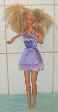 Barbie Pelo Rubio [ 1966 ] riendo Giro Cuerpo En Vestido Mattel
