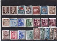 allemagne rda lot timbres neufs 1953 bon état