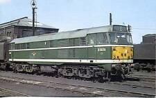 Brush Type 2 Diesel Class 31 D5829 Doncaster Depot 1962  postcard