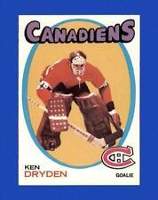 New listing 1971-72 Topps Set Break # 45 Ken Dryden NR-MINT *GMCARDS*
