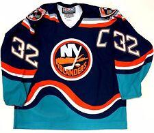 TREVOR LINDEN NEW YORK ISLANDERS 1997 ORIGINAL CCM WAVE AUTHENTIC JERSEY 56