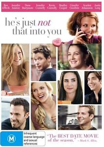 He's Just Not That Into You (DVD Region 4) Drew Barrymore, Justin Long