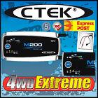 CTEK M200 MARINE CARAVAN BOAT BATTERY CHARGER 12 VOLT 15 AMP SMART CHARGER 15A A