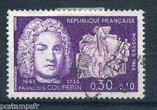 FRANCE 1968, timbre 1550, CELEBRITE, FRANCOIS COUPERIN, oblitéré