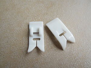 Ultra Glide Teflon Foot Clip On Fits Brother,New Singer,Janome Sewing Machines