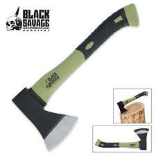 NEW Black Savage Camping Hatchet Survival Ax