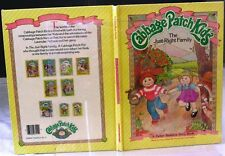 Adorable Vintage 1984 Cabbage Patch Kids Book The Just Right Family