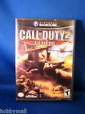 Nintendo Gamecube Call of Duty 2 Big Red One Complete