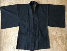 Denim Kimono Haori  no damage Men's L size Washable Japanese Fashion  from JAPAN