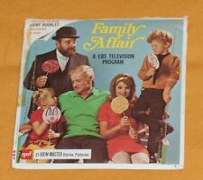 vintage A FAMILY AFFAIR VIEW-MASTER REELS packet with booklet
