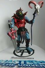 HE MAN/MOTU 200X SKELETOR battle sound, ram hd staff, two swords*see pictures*