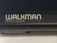 Sony Walkman D-6 Professional cassette recorder. As Found