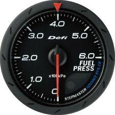 DEFI Advance CR Black 60mm Fuel Pressure Gauge (Metric)