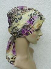 Chemo headscarf, tichel, head snood, surgical cap, chemo head wear, chemo bonnet