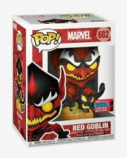 FUNKO POP MARVEL RED GOBLIN NYCC SHARED EXCLUSIVE MINT BOX IN HAND