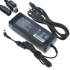 24V 5A AC Adapter Power Cord Charger For Mintek DTV-233 LCD TV DVD Combo 4 pin