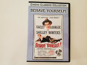 Behave Yourself 1951 DVD-R Manufactured Cinema Classics Collection LN