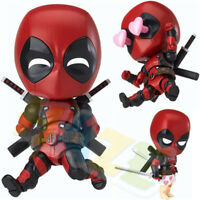 Nendoroid 622 Deadpool Orechan Edition PVC Figura de juguete 10cm Nuevo en caja