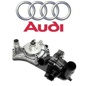 For Audi A8 Quattro RS5 S5 Water Pump & Thermostat Assembly 079121013P Genuine