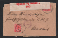 South West Africa 1916 WWI KGV Mariental censored cover to Windhoek WS13270