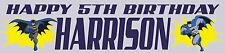 Personalizado Batman Cumpleaños Banners-Compre 2 obtenga 1 gratis
