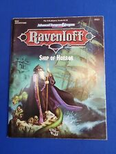 Ravenloft Ship of Horror with Map - Advanced Dungeons and Dragons 2nd Edition