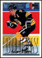 ADAM Oates #180 Boston Bruins TOPPS 1995-6 scheda di hockey su ghiaccio (C531)