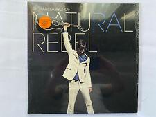 Richard Ashcroft – Natural Rebel orange vinyl LP album (opened but unplayed)