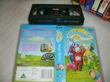 Vhs * Teletubbies: Nursery Rhymes * 1998 RARE BBC (Ragdoll) Edition