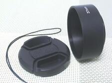 37 mm Metal Camera Lens Hood + 46 mm Cap for Standard Lens 37SC46