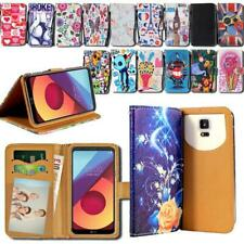 For LG Optimus L 1234579 F 3567 - Leather Smart Stand Wallet Cover Case