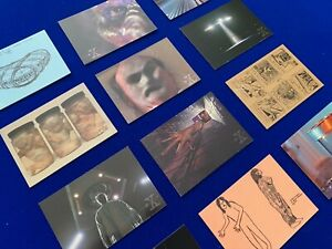 The X Files - Selection of Collectors Trading Cards x 12