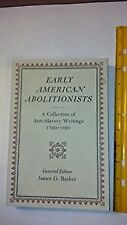 Early American Abolitionists by Gilder Lehrman Institute of American History...