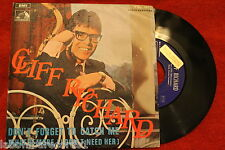 "CLIFF RICHARD-Don't Forget To Catch Me-(shadows)1968 SINGLE 7"" PROMO (EX++/NM) d"