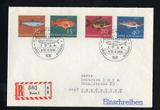 BUND Nr.412-415 R-FDC ESST BONN 10.4.1964 FISCHER ME 22,-++ !!! (121872)