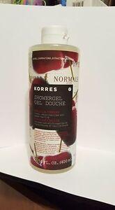 Korres Vanilla Cherry Shower Gel Jumbo Size 13.53 oz NEW!