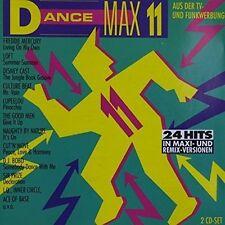Dance Max 11 (1993) Freddie Mercury, Loft, Culture Beat, Naughty by Nat.. [2 CD]